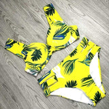 Vista Karina yellow / S Beach Wear With Underwire Biquini