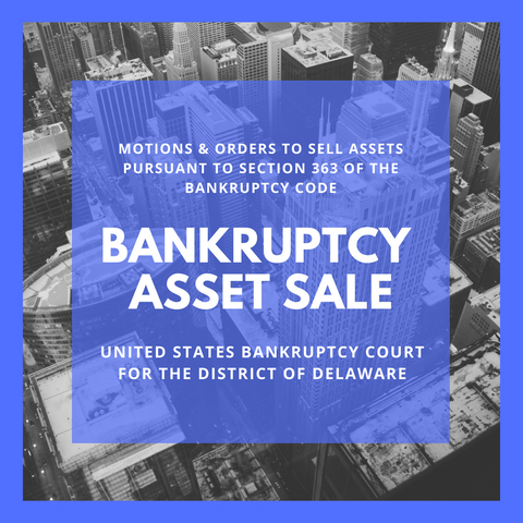 Asset Sale Motion Filed in Bankruptcy Case: 18-12012- Open Road Films, LLC (United States Bankruptcy Court for the District of Delaware)