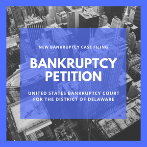 Bankruptcy Petition - 18-11625 Tintri, Inc. (United States Bankruptcy Court for the District of Delaware)
