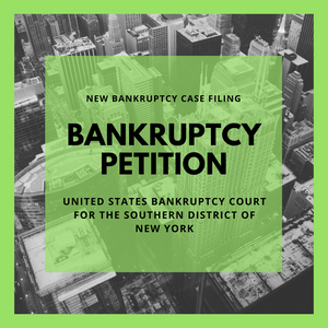 Bankruptcy Petition - 18-13434 Paxoi Marine S.A. (United States Bankruptcy Court for the Southern District of New York)