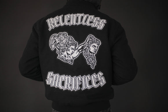 Ultimate Sacrifice Varsity Jacket