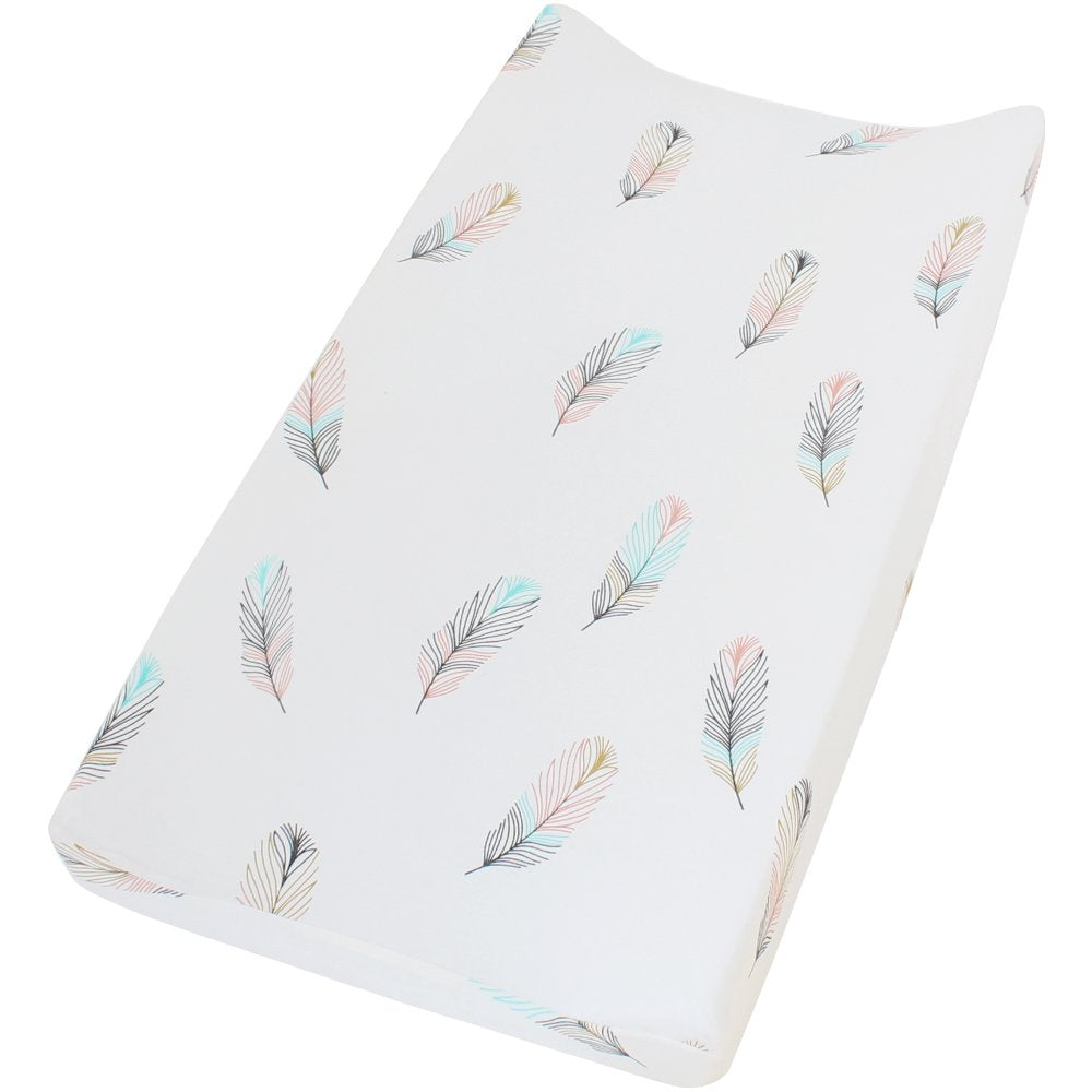 Amazing Lifetree Premium Cotton Diaper Changing Pad Cover Feather Download Free Architecture Designs Rallybritishbridgeorg