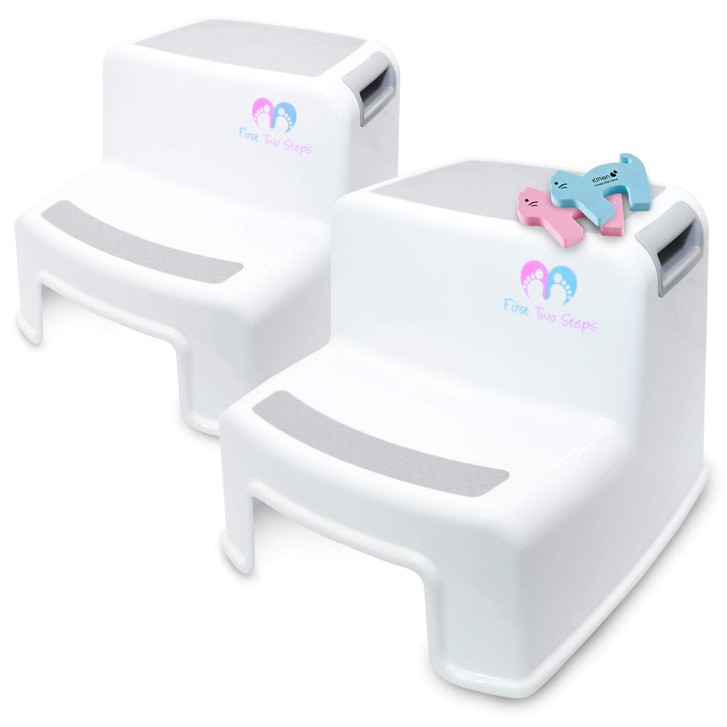 Fantastic 2 Pack Step Stool For Kids Versatile Toddler Step Stool Ibusinesslaw Wood Chair Design Ideas Ibusinesslaworg