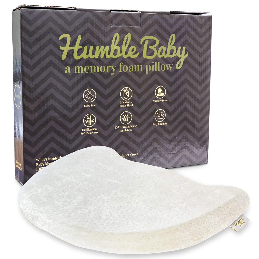 Humble Baby Head Shaping Memory Foam Pillow Soft