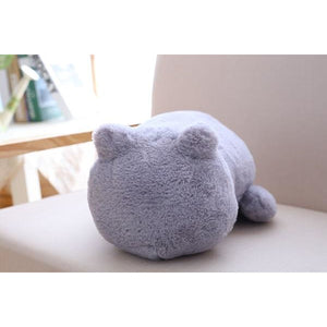 Cute Fluffy Cat Cushions - Smiley Giant