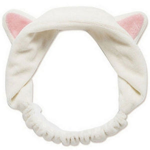 Cute Cat Ears Headband - Face Washing/Spa/Face Mask/Makeup Headband - Smiley Giant