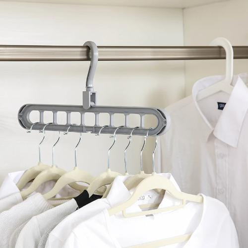 Multi-port Clothes Hanger - Smiley Giant