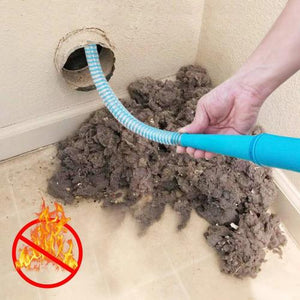 Lint Removal Vacuum Hose Attachment - Smiley Giant