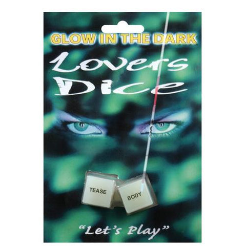 Glow in the Dark Lover's Dice Game