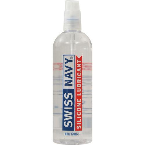 Swiss Navy Lube Silicone - 16 oz