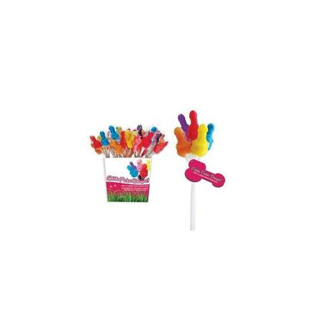 Edible Pecker Bouquet - 72  Pieces Pail Display - 12  Bundles