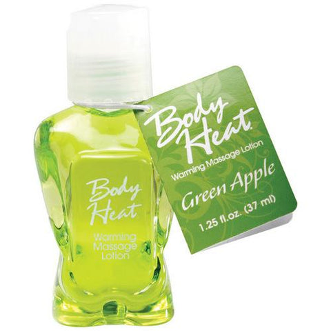 Mini Body Heat Lotion - 1.25 oz Green Apple