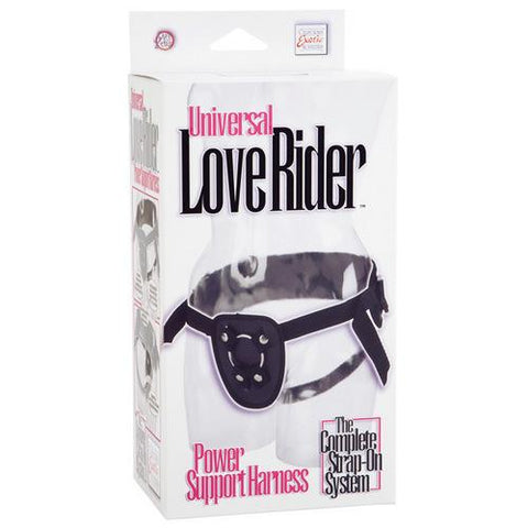 Love Rider Universal Power Support Harness - Black