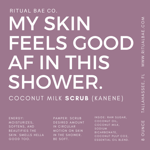 Kanene Body Scrub (Coconut Milk Scrub)