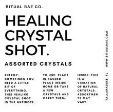 Load image into Gallery viewer, Healing Crystal Shot