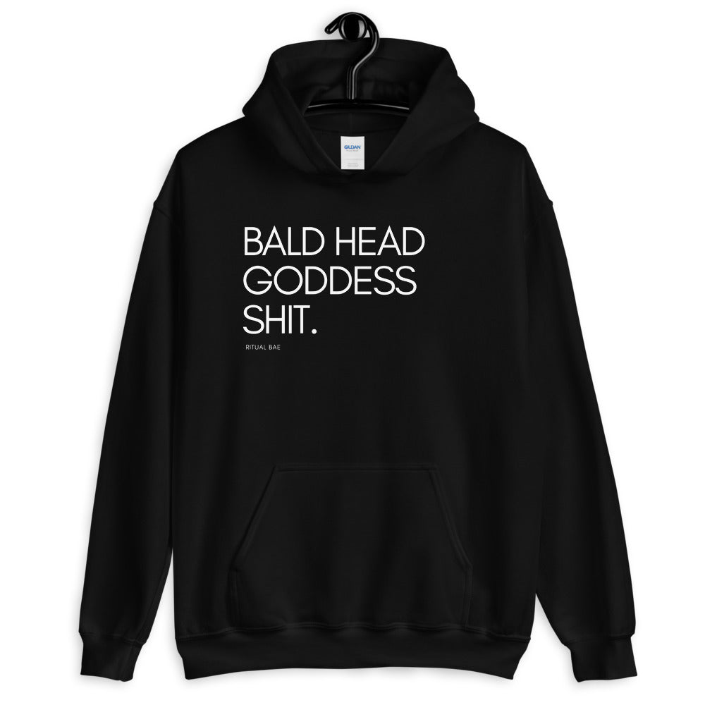 Bald Head Goddess Shit Hoodie