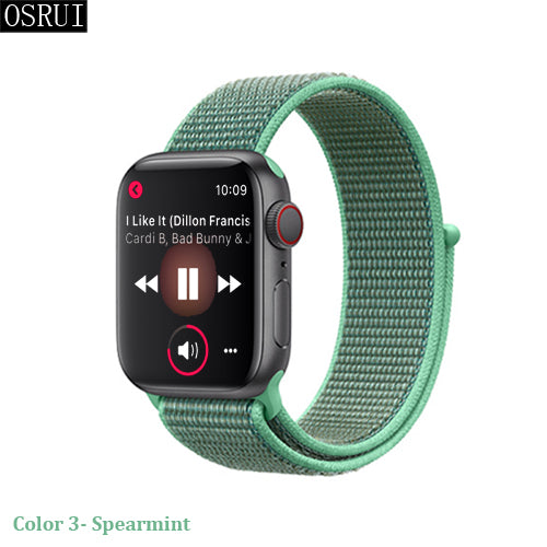 Sport Loop Strap for Apple watch band 4 iwatch 3 2 1
