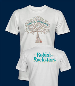 Bags and Blessings Robin's Rock Stars T-Shirt