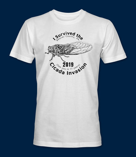 I Survived the 2019 Cicada Invasion Logo on Front