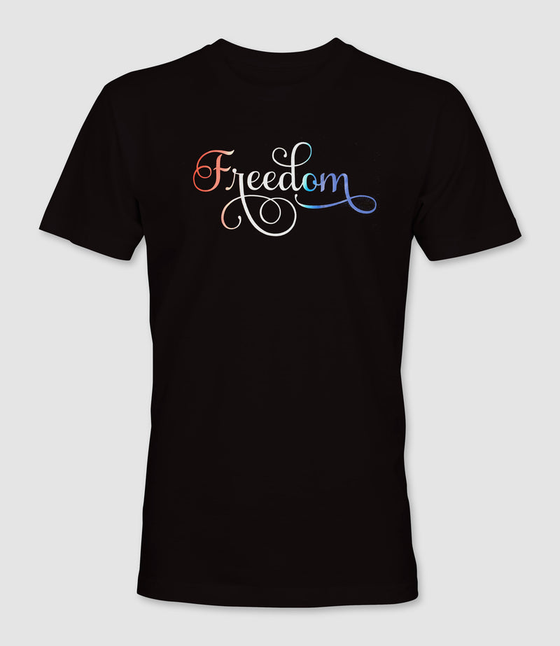 Freedom Red White Blue blend shirt