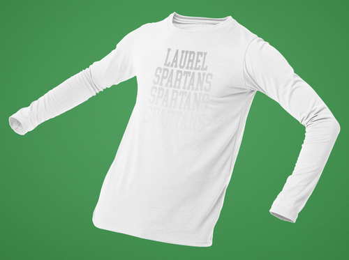 Laurel Choir WHITE OUT fundraiser Long Sleeve T-Shirt