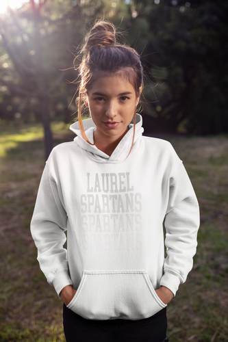 Laurel Choir WHITE OUT fundraiser Hoodie