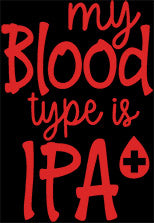 My Blood Type is IPA