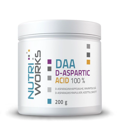 Nutri Works DAA D-ASPARTIC ACID 100 %