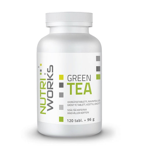 Nutri Works Green Tea 120 tabl.