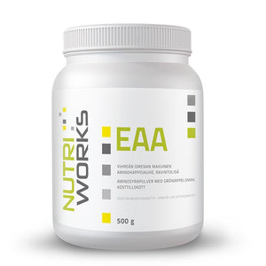 Nutri Works EAA 500g Green Apple