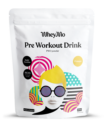 Whey'Mo Pre-Workout Drink 600g