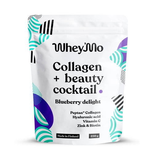 Whey'Mo Collagen Beauty Cocktail 250g Blueberry