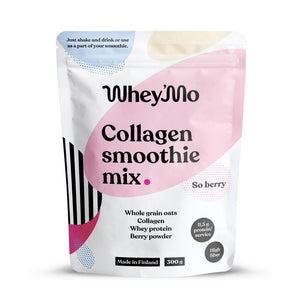Whey'Mo Collagen Smoothie Mix So Berry 300g