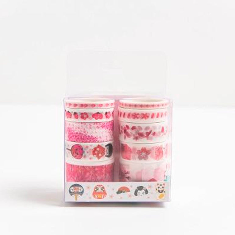Washi Tape Flower - I Love Papelaria