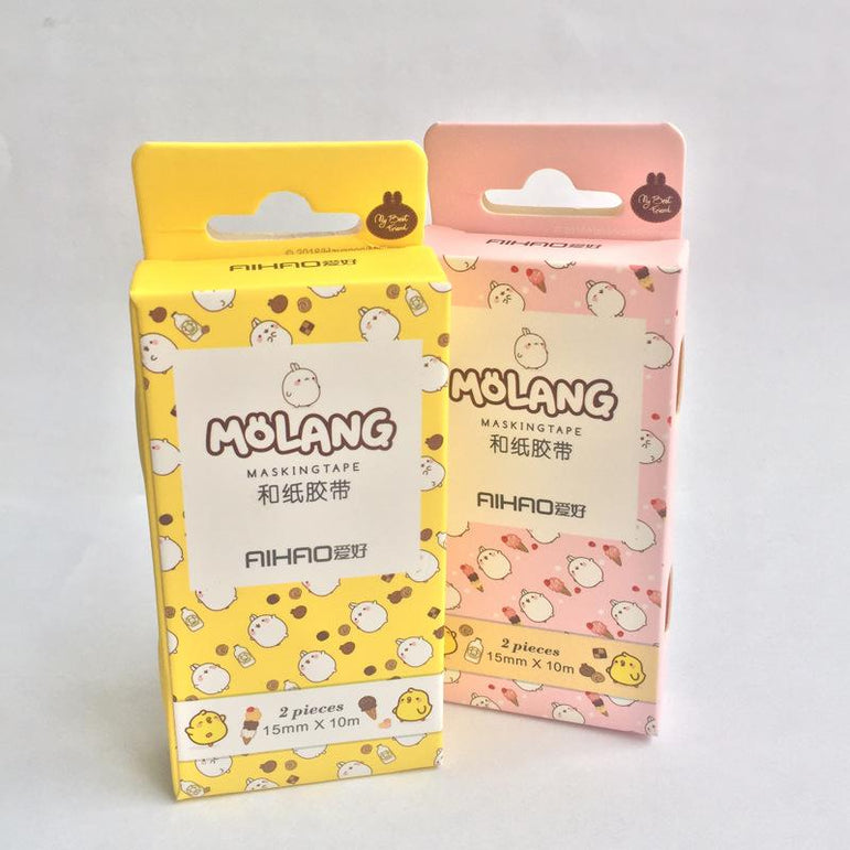 Washi Tapes Molang - I Love Papelaria