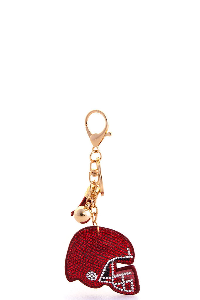 End Zone Football Keychain