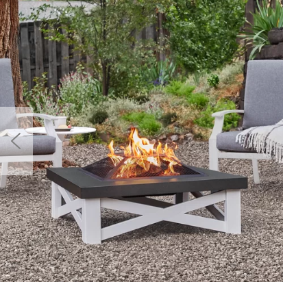 Austin Steel Wood Burning Fire Pit