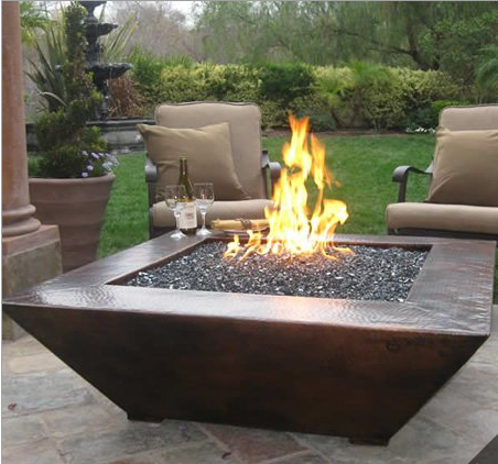 Amiata Auto Ignition Fire Pit - FFP