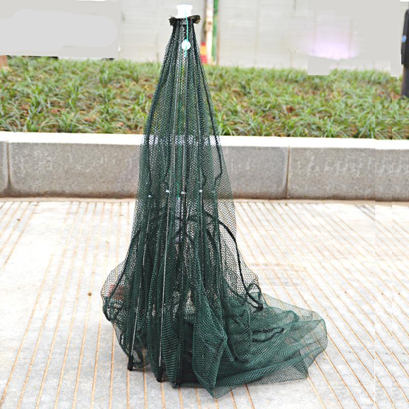 Foldable 8 Hole Hexagon Fishing Net