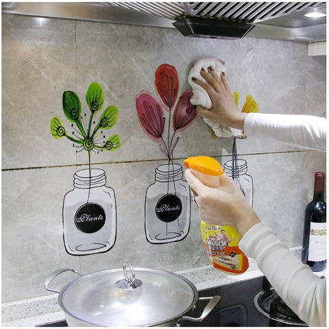 Kitchen Self Adhesive Wallpapers