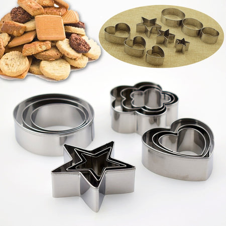 Stainless Steel Cake Molds