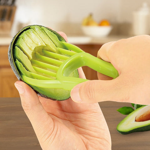 HOOMIN 3 in 1 Avocado Slicer
