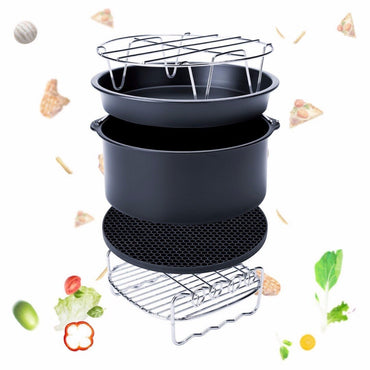 5Pcs Kitchen Air Fryer Set