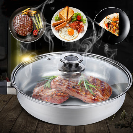6pcs/set Stainless Steel Cookware Set