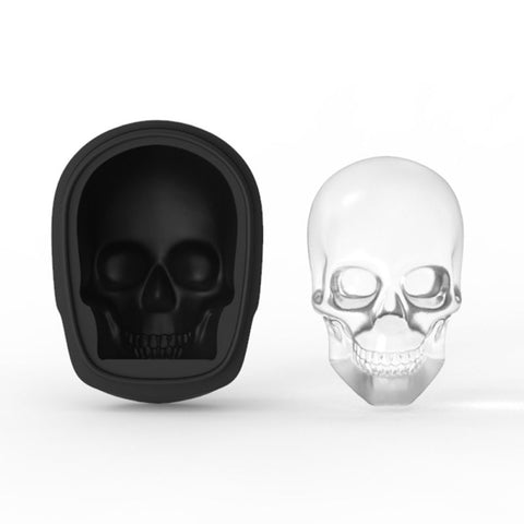 3D Skeleton Silicone Ice Tray
