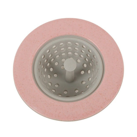 4 color Silicone Kitchen Sink Strainer Stopper Drain Hole Sink Strainer Bathroom Drain Hair Catcher Sink kitchen accessory