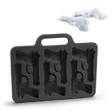10 Grids Silicone Ice Mold Bullet Shape Ice