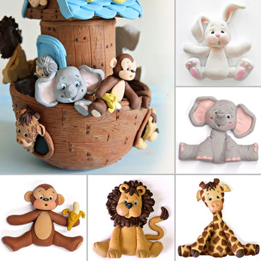 Animals Silicone Cake Molds