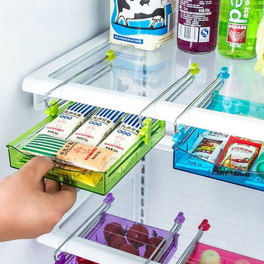 Slide Kitchen Fridge Space Organizer