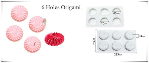 Multiple Shapes Silicone Cake Molds